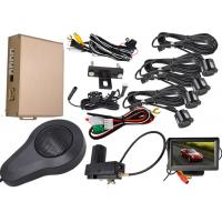 China 0.3 - 1.8m Display Distance Front And Rear Parking Sensor Kit Working With Original Car Brake System on sale