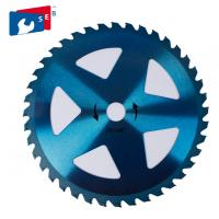 Painted Blue Finishing TCT Saw Blade 16 - 70 Mm Hole Size 255 X 30 X 40 T Manufactures