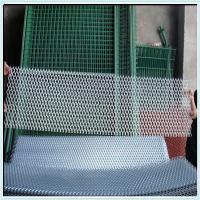 galvanized expanded wire mesh fencing/hexagonal hole expanded mesh