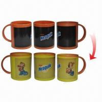 Color Changing with Hot Water Plastic Mugs, Sized 7.5cm Manufactures