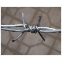 Buy cheap Galvanized & PVC Coated Barbed Wire from wholesalers