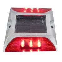 Die Casting Aluminum Solar LED Road Stud 6 LEDS Powered By Mono Crystalline Solar Panel Manufactures