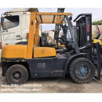 used 4.5ton tcm forklift FD45T8 originally made in japan ,worked for 2000 hrs, 3m lefting height Manufactures