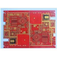 Red Solder Mask Prototype High Density Interconnect HDI PCB High TG Material 20 Layer Manufactures