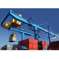 Rail Mounted Shipping Container Crane 50 Ton For Harbor / Containers Stockyard Manufactures