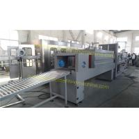 Semi Automatic Shrink Wrap Machine , Label Packaging Machine With Steam Generator Manufactures