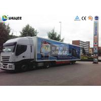 Mobile Truck 7D Movie Theater Cinema Equipment Special Effect Luxury Motion Chairs Manufactures