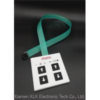 Plastic & Rubber Membrane Push Button Switch , Smooth Membrane Switch Keypad Manufactures