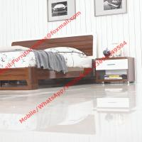 Quality Fashion Brilliance latest bedroom suite furniture designs in high glossy painting melamine for sale