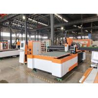 Buy cheap Medium - Power Low Noise Metal Laser Cutting Machine , Laser Metal Cutting from wholesalers