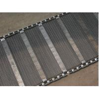 Industrial Stainless Steel Flat Wire Conveyor Belt Exceptionally High Yield Point Manufactures