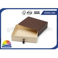 Various Size Custom Shape Drawer Cardboard Box For Belt Sunglasses Packaging Manufactures