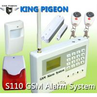 China wireless gsm home alarm system,S110,CE on sale