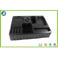 2.0mm Black Blister Packaging Tray Compartment For Electronic Packaging Manufactures