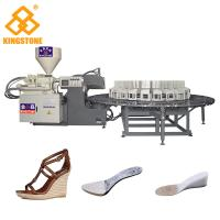 China 200-280 Pairs Per Hour Shoe Sole Making Machine For Wedge Heel Sandals / Boots on sale