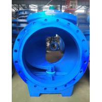 Rubber Sealed Eccentric Ball Valve / WCB Ball Valve With Strong Decontamination Capabilities Manufactures