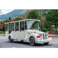 8 Seats Electric Sightseeing Car , Electric Tour Bus 30km / H Max Speed Manufactures