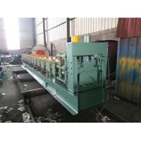 Buy cheap Steel sheet Big Round Ridge Capping Cold Roll Forming Machine Panasonic PLC Control from wholesalers