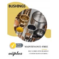 Replacement Self Lubricating Bronze Bushings Stock Size Tolerances & Installation Manufactures