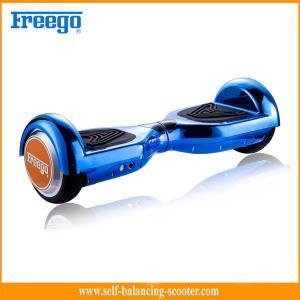 China Dual Wheel Self Balance Skate Board Blue Drift Style For Children on sale