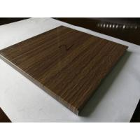 China Wood texture aluminum honeycomb panel thickness 8mm for indoor decoration on sale