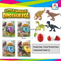 Suprise egg press candy with dinosour toys for kids Manufactures