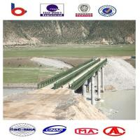 Bailey Steel Deck Bridges High Stiffness With Heavy loading ,portable steel bridge,panel Manufactures