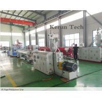 PE Pipe Extrusion Line / Water Supply Pipe Production Machine Manufactures