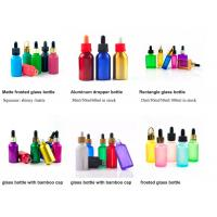 Quality 1oz 50ml Cosmetic Glass Bottles With Glass Pipette For Essential Oil  OEM for sale