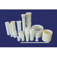 Ivory White Corrosion Resistance Alumina Ceramic Tubes Rods For Engineering Manufactures