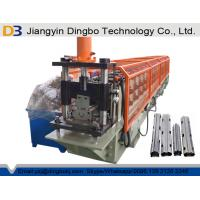 Galvanized Steel Sheet Vineyard Fence Post Metal Roll Forming Machine 1.0-2.0mm Thickness