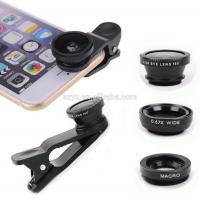 China 3 In 1 Mobile Phone Camera Lens ,12X Telescope Lens For Iphone Samsung Tablet PC on sale