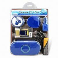 China Starter Kit for PSP2 with Carry Bag, Includes USB Car Charger and Screen Protection Film on sale