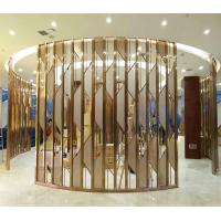 metal artwork gold stainless steel decorative panel made in china Manufactures