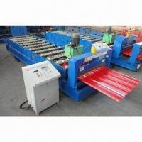 Roof and Wall Roll Forming Machine, Widely Used in Various Industrial Factories/Civilian Buildings Manufactures