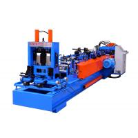 Reliable C Purlin Forming Machine Automatic Change Size Type 15-20 Meters Per Minute Manufactures