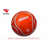 Colorful PVC  Machine Stitched Soccer Ball / Custom Size 5  kids training foot Manufactures