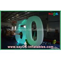 Buy cheap Customized Inflatable Number With LED Light For Event Advantages from wholesalers