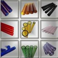 China Colored borosilicate glass tubes on sale