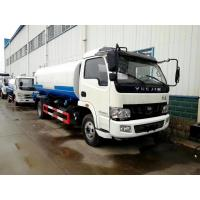 HOT SALE! YUEJIN brand new 130hp diesel  9cbm water tanker truck, water spinkling vehicle for sale, water tanker truck Manufactures