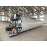 China Dia 2.25m × Length 12m Bitumen Tank , Hot Oil Storage Tank For Asphalt Mixing Plant on sale