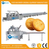 China Full automatic soft and hard biscuit production line high efficiency biscuit processing integrated machines equipment on sale