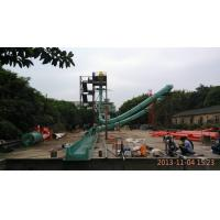 China High Speed Tube Fiberglass Spiral Water Slide for Water Amusement Park Equipment wholesale
