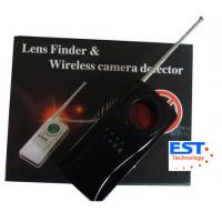 Vibrating Alarm Wireless Bug Camera Detector , IR Ray Specially Filtrated Len Manufactures