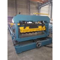 Quality Aluminium Metrocopo Roof Tile Roll Forming Machine High speed 0.4 - 0.6mm for sale