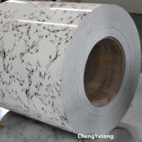 China Stone Grain Antimicrobial Prepainted Galvalume Coil For Bathroom Decoration on sale