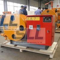 China Industrial Peristaltic Grout Pump Chemical Transfer Pump High Power With Electric Panel on sale