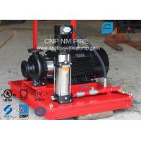 3 M³/H Fire Fighting Jockey Pump Stainless Steel With 100-220PSI Head Manufactures