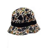 Fashion 100% Cotton Twill Bucket Hat , Logo Printed Snapback Bucket Hat Manufactures