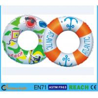 Dia 80cm Kids Swimming Ring,100% Leak Proof Inflatable Pool Tubes And Rings Manufactures